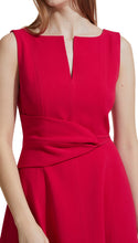 Load image into Gallery viewer, Twist Front Dress in Raspberry