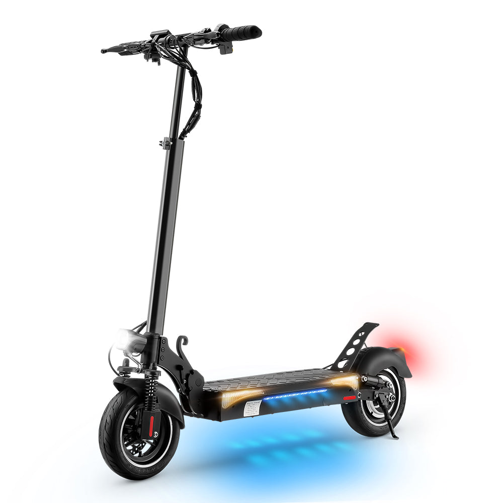 【No. 1 in Range 】iX4 Electric Scooter Max Range 31miles 600W 12.8Ah Double Driving System(2-7days delivery)