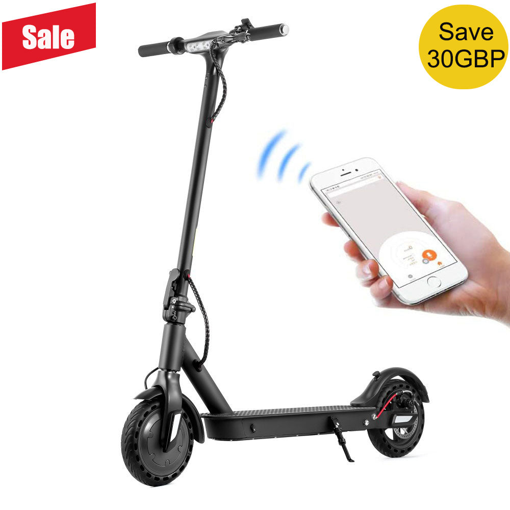 E9TPro2 Intelligent Folding Electric Scooter 8.5 inch Max Speed 30km/h Max Range 25km with APP