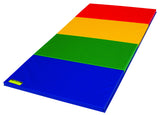 Rainbow Colored Folding Tumbling Mat