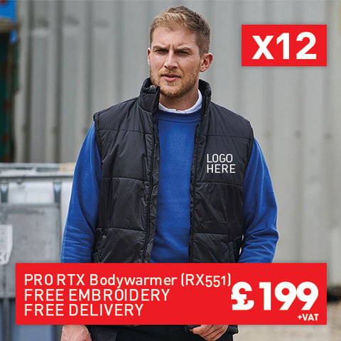 12 RTX Pro bodywarmerfor Only £199 (RX551)