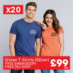 20 GILDAN Softstyle™ adult ringspun t-shirt for Only £99 (GD001)