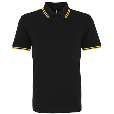 Asquith & Fox Men's Classic Fit - Tipped Polo AQ011
