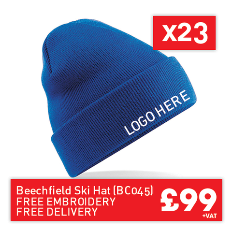 23 Beechfield Original cuffed beanie for Only £99 (BC045)