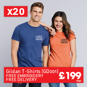 20 GILDAN Softstyle™ adult ringspun t-shirt for Only £199 (GD001)