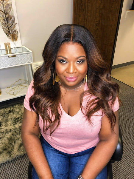 HD lace frontal wig (morgan)-houston mem beauty wigs