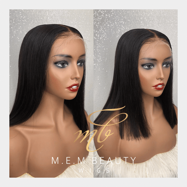 HD lace frontal wig(lydia) - MEM Beauty Wigs Houston