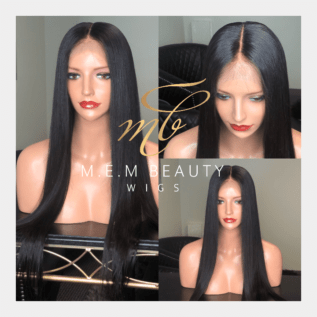 human hair lace front wig - M.E.M Beauty Wigs Houston