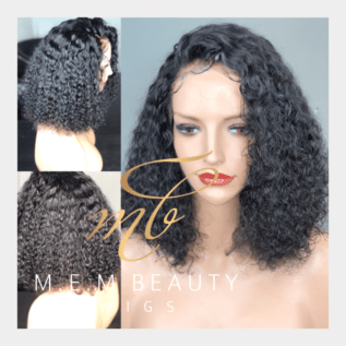 curly frontal wig houston