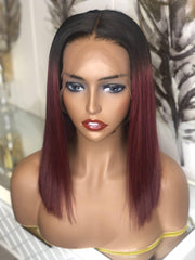 ace frontal pre-made wig (paprika)