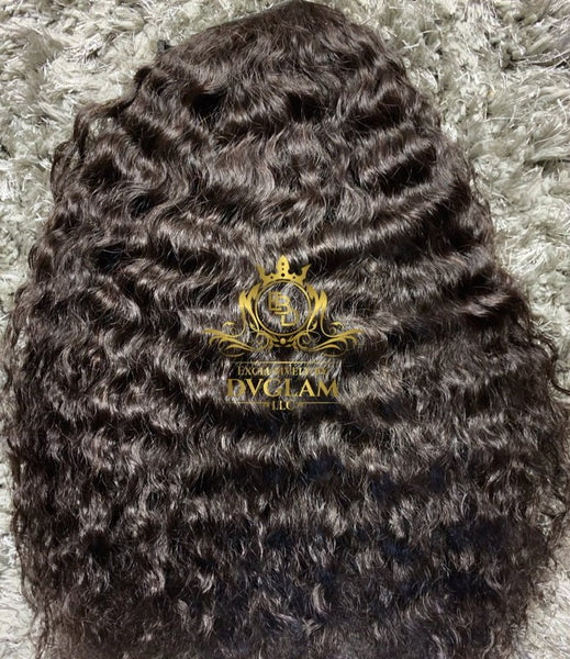 "18"" Italian Curly Upart Wig"