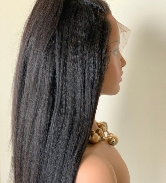 Relaxed Straight Wefts