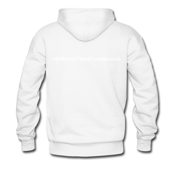 Twisted Men's Premium Hoodie - white