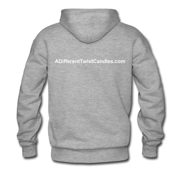 Twisted Men's Premium Hoodie - heather gray