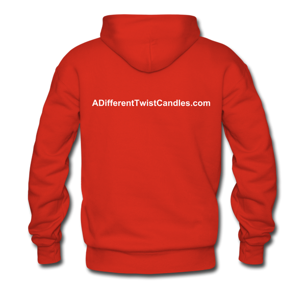 Twisted Men's Premium Hoodie - red