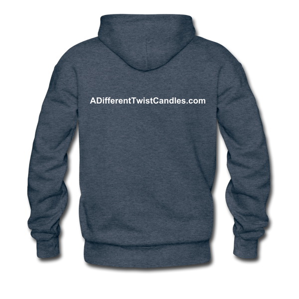 Twisted Men's Premium Hoodie - heather denim