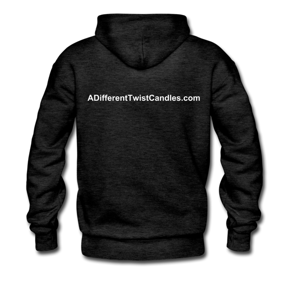 Twisted Men's Premium Hoodie - charcoal gray