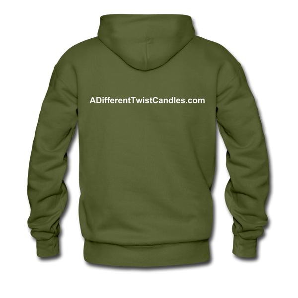 Twisted Men's Premium Hoodie - olive green