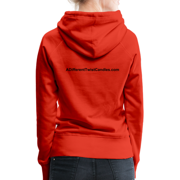 Twisted Women's Premium Hoodie - red