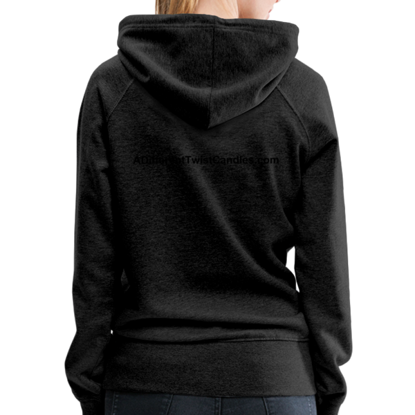 Twisted Women's Premium Hoodie - charcoal gray