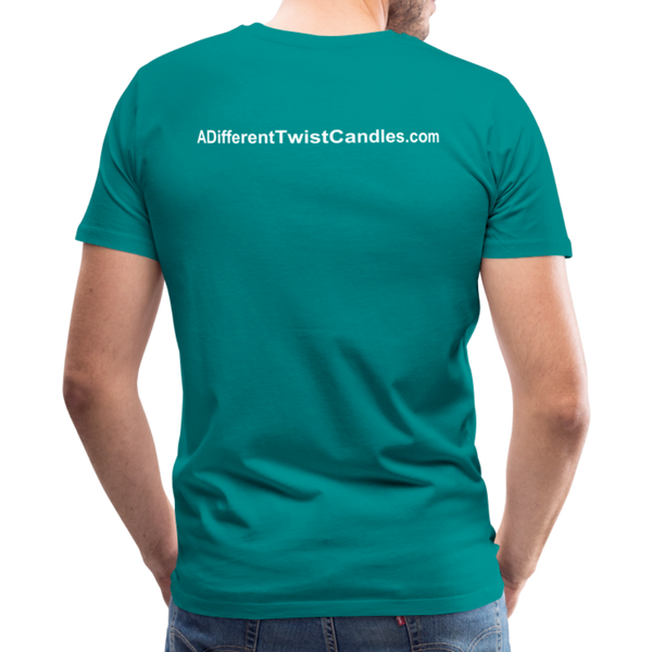Twisted Men's Premium T-Shirt - teal