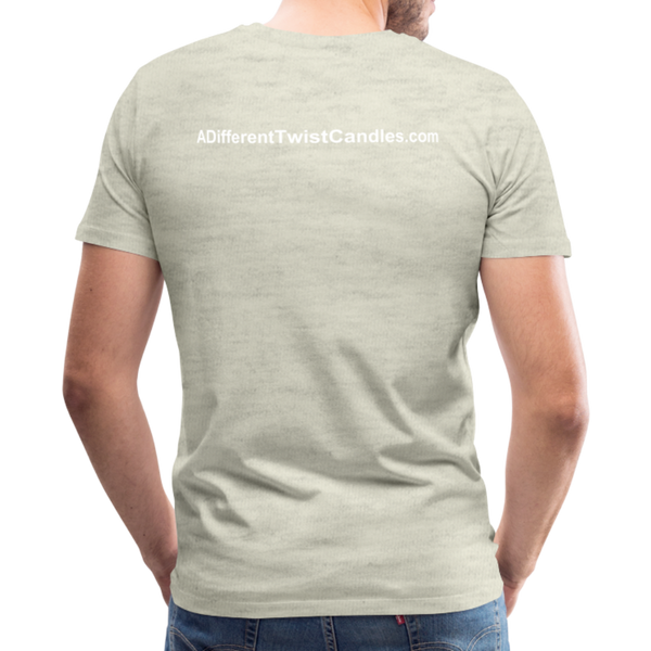 Twisted Men's Premium T-Shirt - heather oatmeal