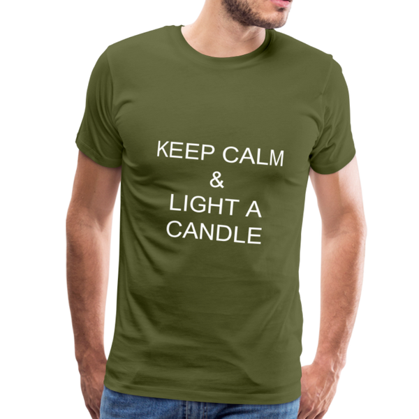 Twisted Men's Premium T-Shirt - olive green