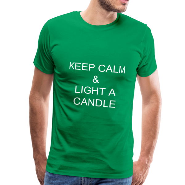 Twisted Men's Premium T-Shirt - kelly green