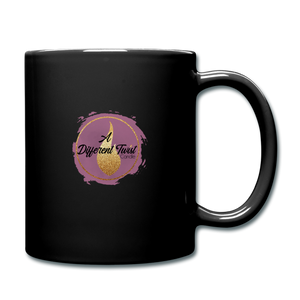 Twisted Full Color Mug - black