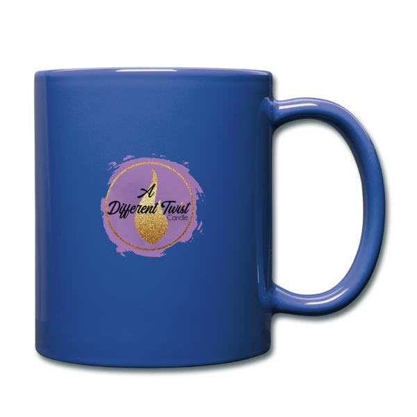 Twisted Full Color Mug - royal blue