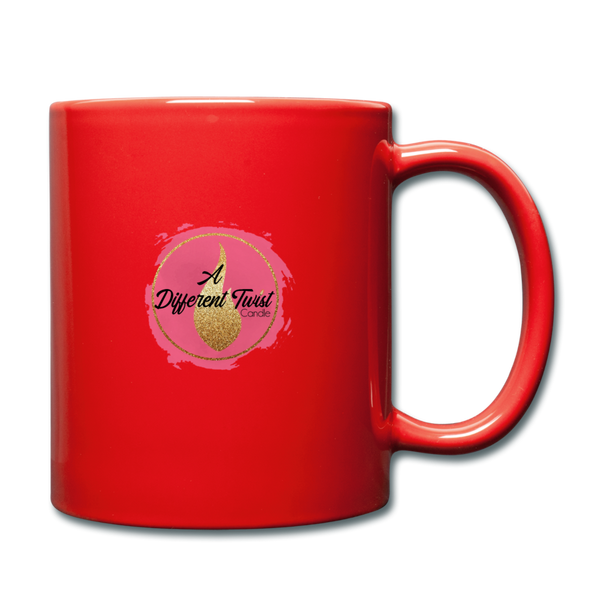 Twisted Full Color Mug - red