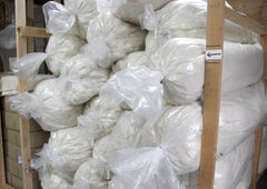 Wool shipment from the Mill