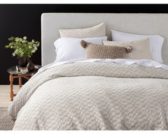 Crystal Cove Organic Duvet Cover & Sham - Clearance