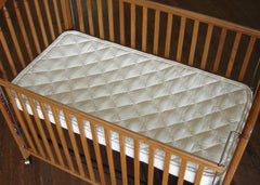 Crib Natural Mattress- Spring