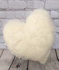 Happy Lamb Heart Pillow - Holy Lamb Organics