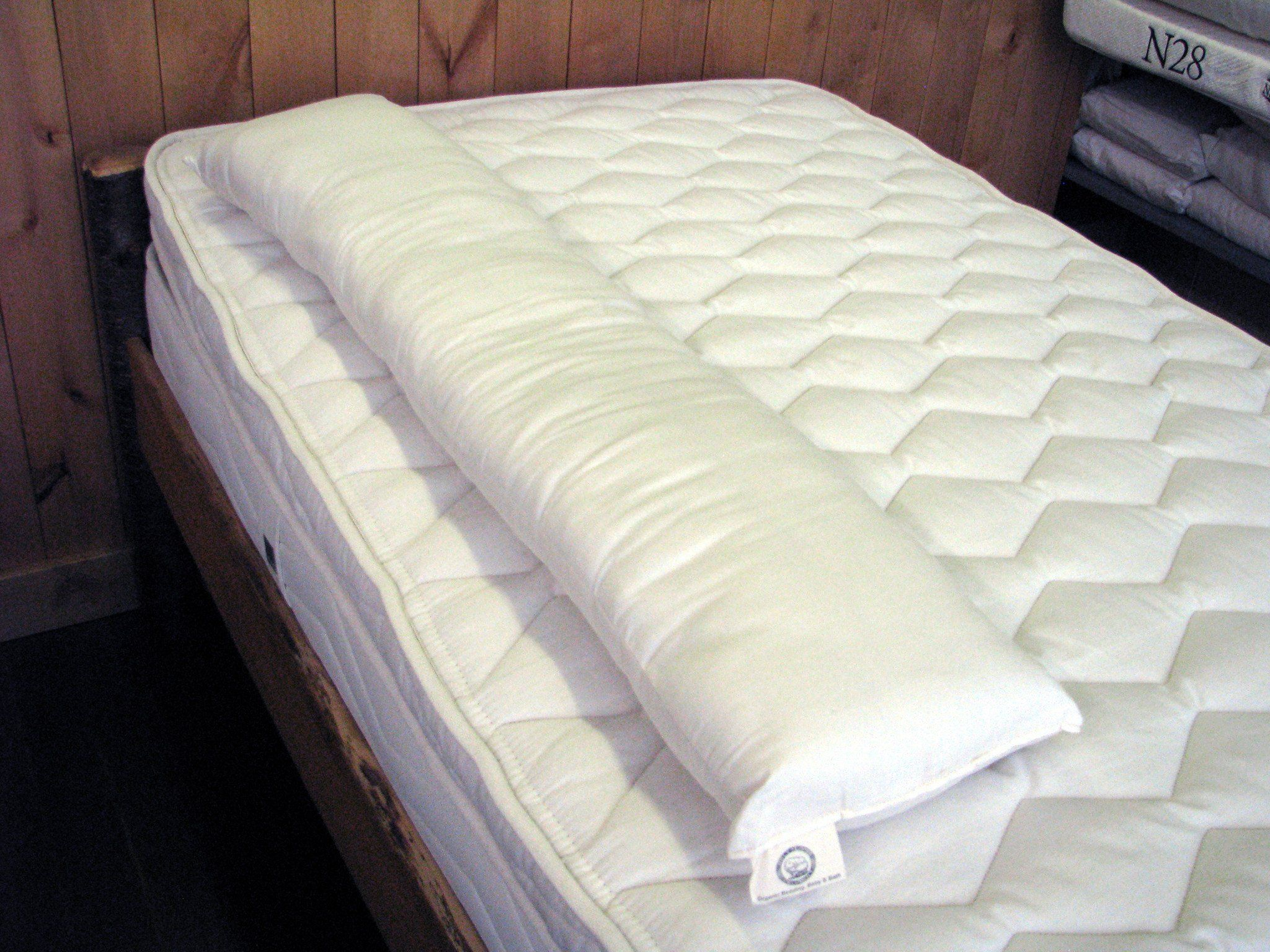 Natural Family Bed Bumper Safe Breathable Wool Organic