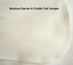 Natural Wool Moisture Barrier and mattress protector sample.