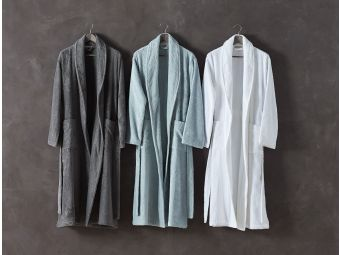 Unisex Cloud Loom Organic Robe - Holy Lamb Organics