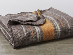 Diablo Striped Wool Throw