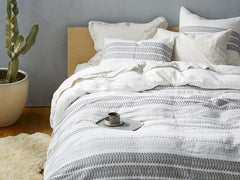 Lost Coast Organic Duvet Cover and Shams