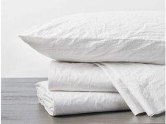 Organic Crinkled Percale Sheets - Holy Lamb Organics