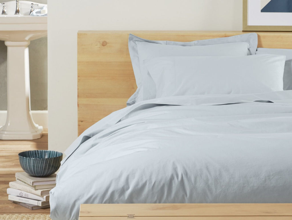 300 Percale Duvet Cover - Holy Lamb Organics