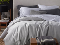 Cloud Brushed Organic Flannel Duvet Cover