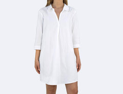 Women's Organic Crinkled Sleep Shirt - Holy Lamb Organics