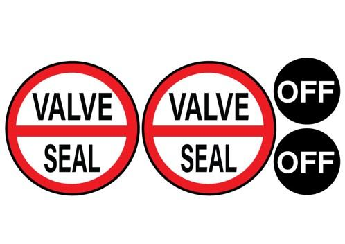 StyleSEAL Valve Cover Stickers