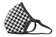 Load image into Gallery viewer, STYLESEAL Houndstooth Air Filter Face Mask - no valve