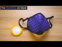 Load and play video in Gallery viewer, Sky Blue Camo Air Mask
