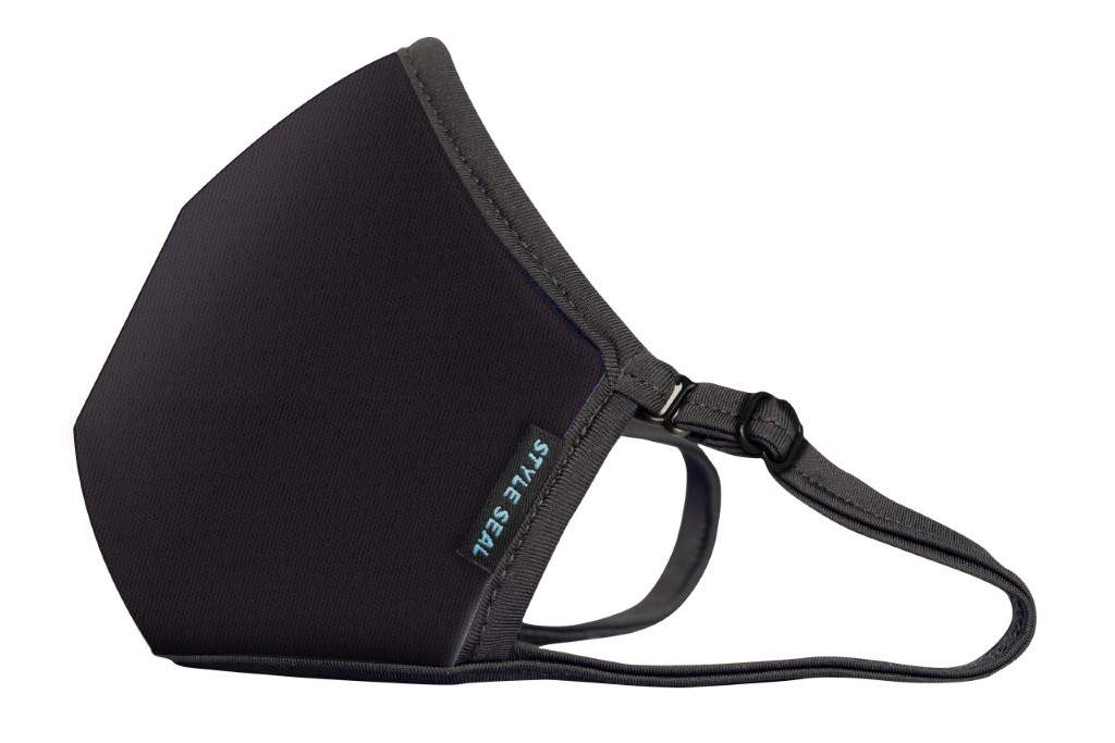 STYLESEAL Zorro Black Air Filter Mask - no valve