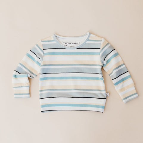 Pullover - Bamboo French Terry - Stripe