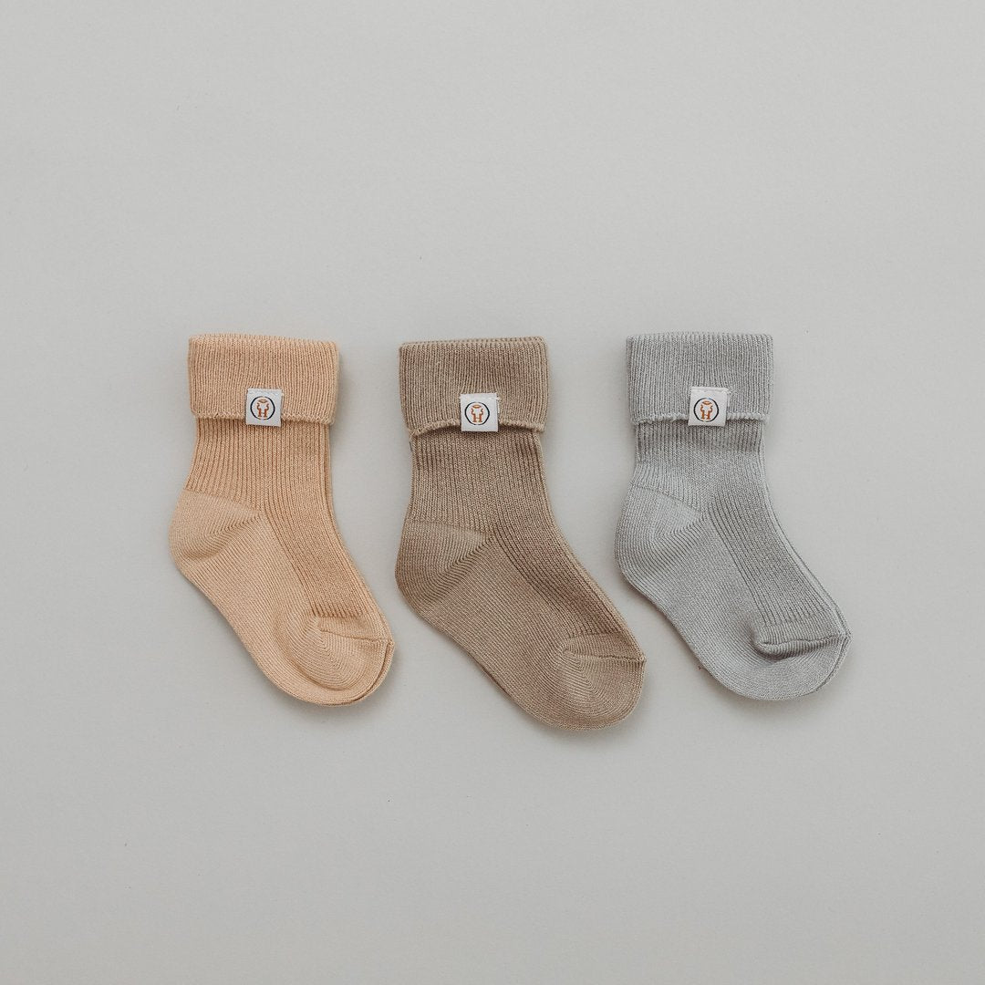 BAMBOO SOCK PACK - 3 PAIRS - EVERGREEN